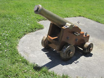 Rennend kanon Stock Foto's