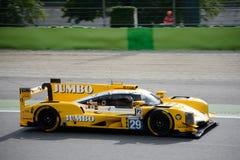 Rennend Team Nederland Dallara P217 in actie Royalty-vrije Stock Fotografie