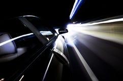 Rennende sportwagen Royalty-vrije Stock Foto's