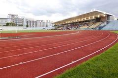 Rennenspur im Chula Stadion Lizenzfreies Stockfoto
