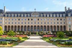 Rennes (Βρετάνη), ιστορικό παλάτι Στοκ Φωτογραφία