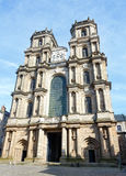 Rennes Cathedral, France. Cathedral of Saint Peter or Rennes Cathedral. France. Build between 1541-1704 Stock Images