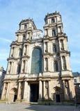 Rennes domkyrka, Frankrike Arkivbilder
