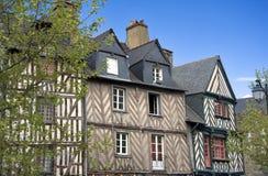 Rennes histórico Imágenes de archivo libres de regalías