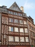Rennes Historic Buildings Royalty Free Stock Images