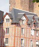 Rennes Historic Buildings Royalty Free Stock Photos