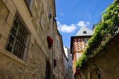 Rennes - historische streek Stock Foto