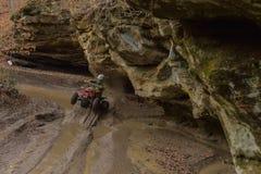 Rennläufer des Viererkabel-ATV Lizenzfreie Stockfotos