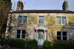Rennovation和恢复老房子英国 免版税库存图片