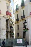 Rennovation des Gebäudes in Andalusien Lizenzfreie Stockfotos