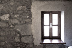 Rennoveted window Royalty Free Stock Photos