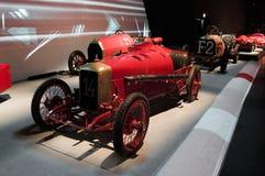 Rennparade bei Museo Nazionale dell'Automobile Stockfotografie