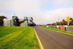 Rennstrecke der Formel 1 in Albert Park, Melbourne, Australien Lizenzfreie Stockfotos