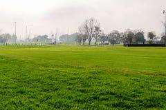Rennstrecke der Formel 1 in Albert Park, Melbourne, Australien Stockfotos