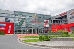 Rennstrecke Nurburgring - Informationsbüro Lizenzfreies Stockfoto