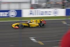 Rennwagen der Formel-1 Stockbild