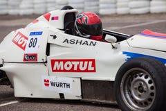 Rennwagen F1 in Sri Lanka Stockfotografie