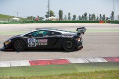 RENNWAGEN LAMBORGHINIS GALLARDO GT3 Lizenzfreies Stockbild