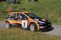 Rennwagen Peugeot 207 Stockfotografie
