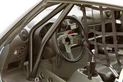 Rennwageninnenraum lizenzfreies stockbild