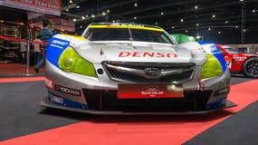 Rennwagenshow Lizenzfreie Stockfotos