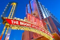 Reno, Νεβάδα ΗΠΑ Στοκ Φωτογραφία