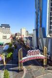 Reno самый большой маленький город стоковое изображение