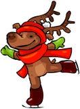 Reno #2 de la Navidad stock de ilustración
