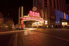 Reno Arch Royalty Free Stock Images