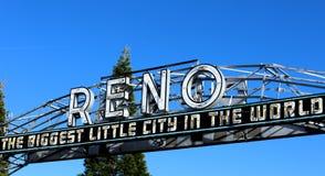 The Reno Arch Stock Photos