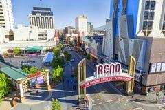 Reno The Biggest Little City Lizenzfreie Stockbilder