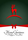 Reno de la Navidad Foto de archivo libre de regalías