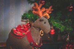 Reno de la Navidad Fotos de archivo libres de regalías