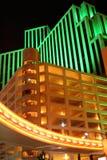 Reno en la noche Foto de archivo libre de regalías