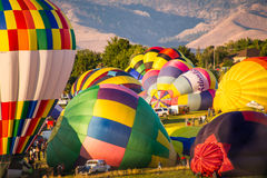Reno Great Balloon Race Fotos de Stock Royalty Free