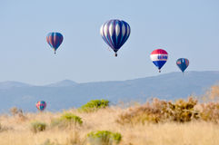 Reno Great Race - Hot Air Balloons Stock Image