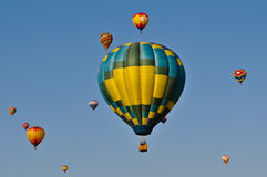 Reno Hot Air Balloon 2011 Stock Photography