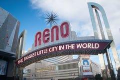 Reno, nanovolt Imagem de Stock