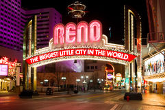 Reno Nevada Lizenzfreie Stockfotos
