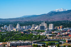 Reno Nevada imagem de stock royalty free