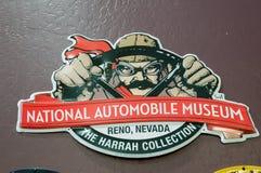 Reno, Nevada - 30 décembre 2016 : Voitures de vintage dans le ressortissant A Photographie stock libre de droits