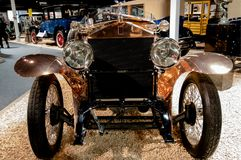 Reno, Nevada - December 30, 2016: Uitstekende auto's in Nationale A Royalty-vrije Stock Foto