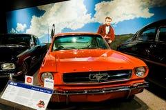 Reno, Nevada - December 30, 2016: Uitstekende auto's in Nationale A Royalty-vrije Stock Afbeeldingen