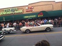 Reno Nevada hot August nights. Car show Royalty Free Stock Photos