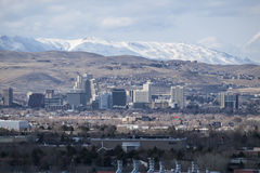 Reno Nevada Winter View Stock Photography