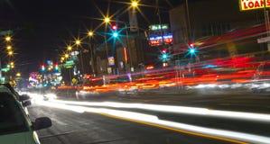 Reno at Night Stock Images