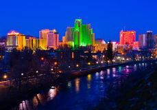Reno at night Royalty Free Stock Image