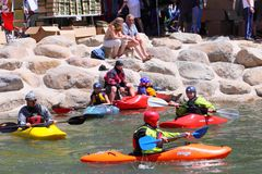 Reno River Festival Royalty Free Stock Images