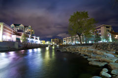 Reno River Walk Stock Image