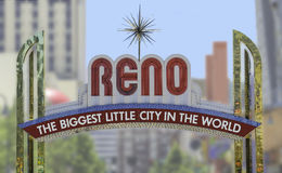 Reno sign Royalty Free Stock Images